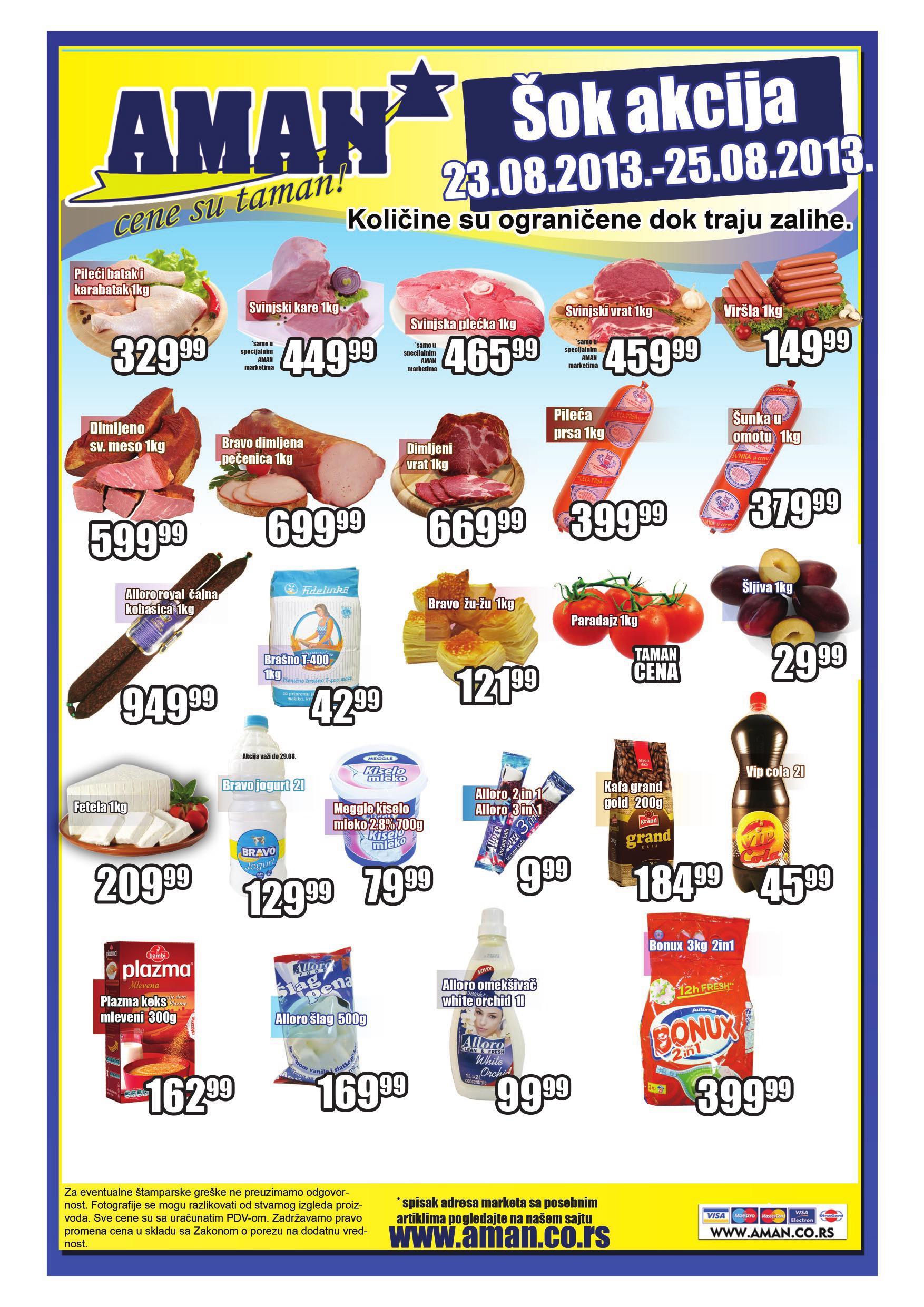 Aman katalog vikend odlične kupovine