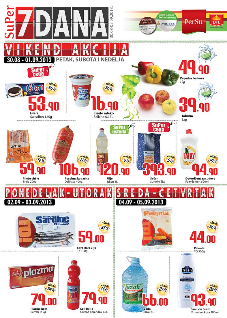 Persu katalog 7 dana super kupovine