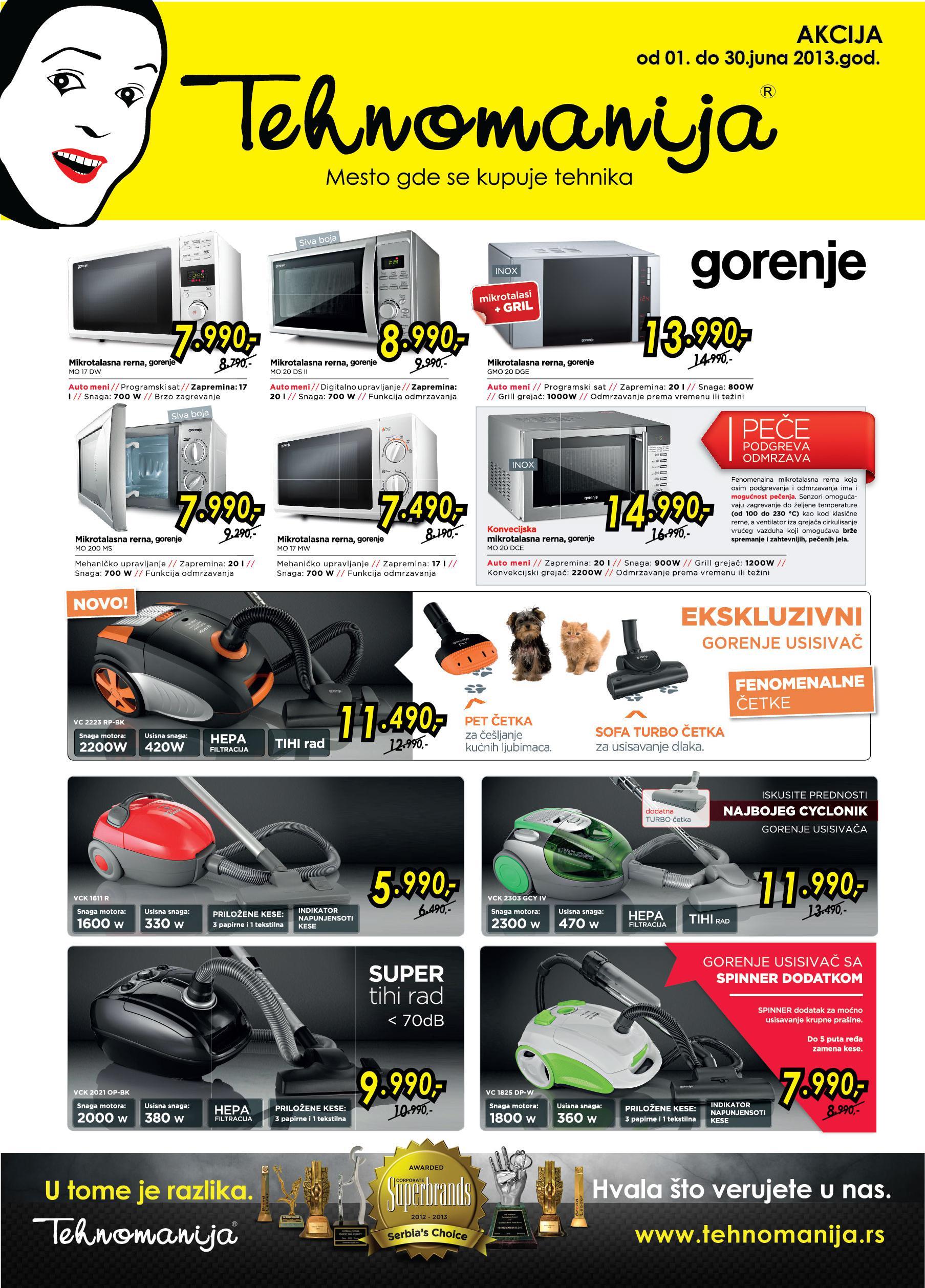 Tehnomanija Katalog mali kućni aparati po super cenama