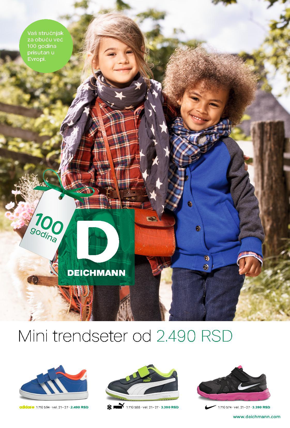 Deichmann katalog mini trendseter