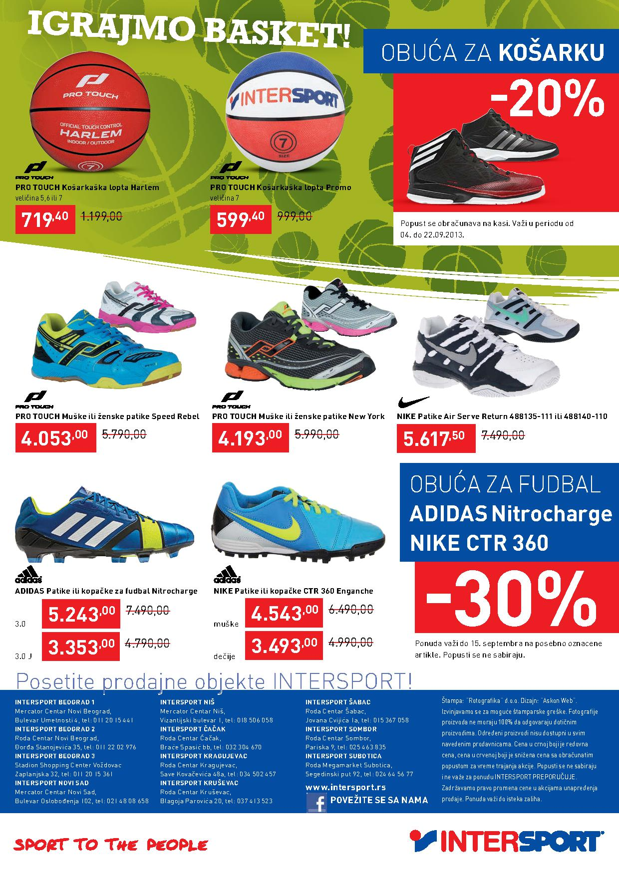 Intersport katalog super cena