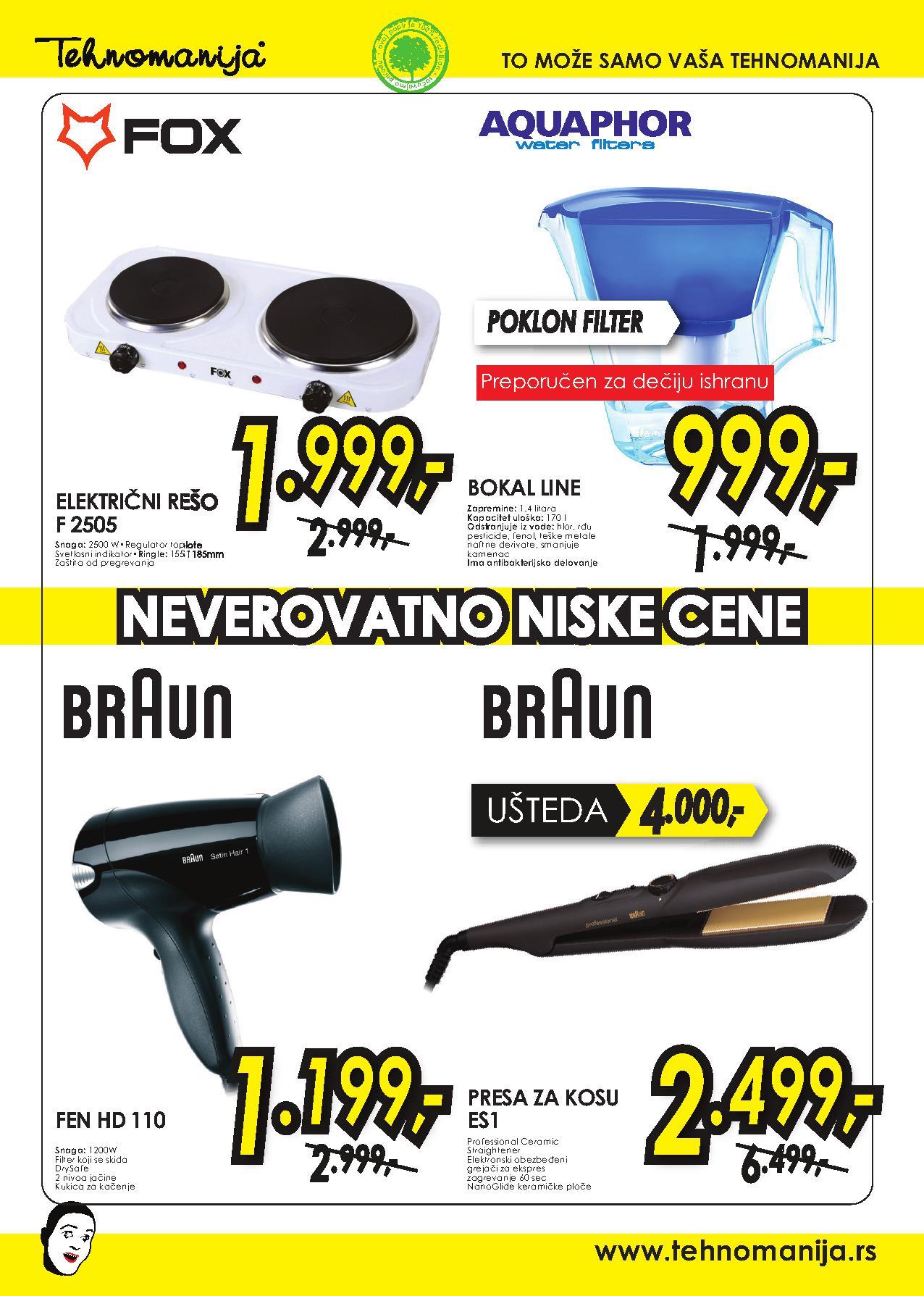 Tehnomanija katalog vikend super cena