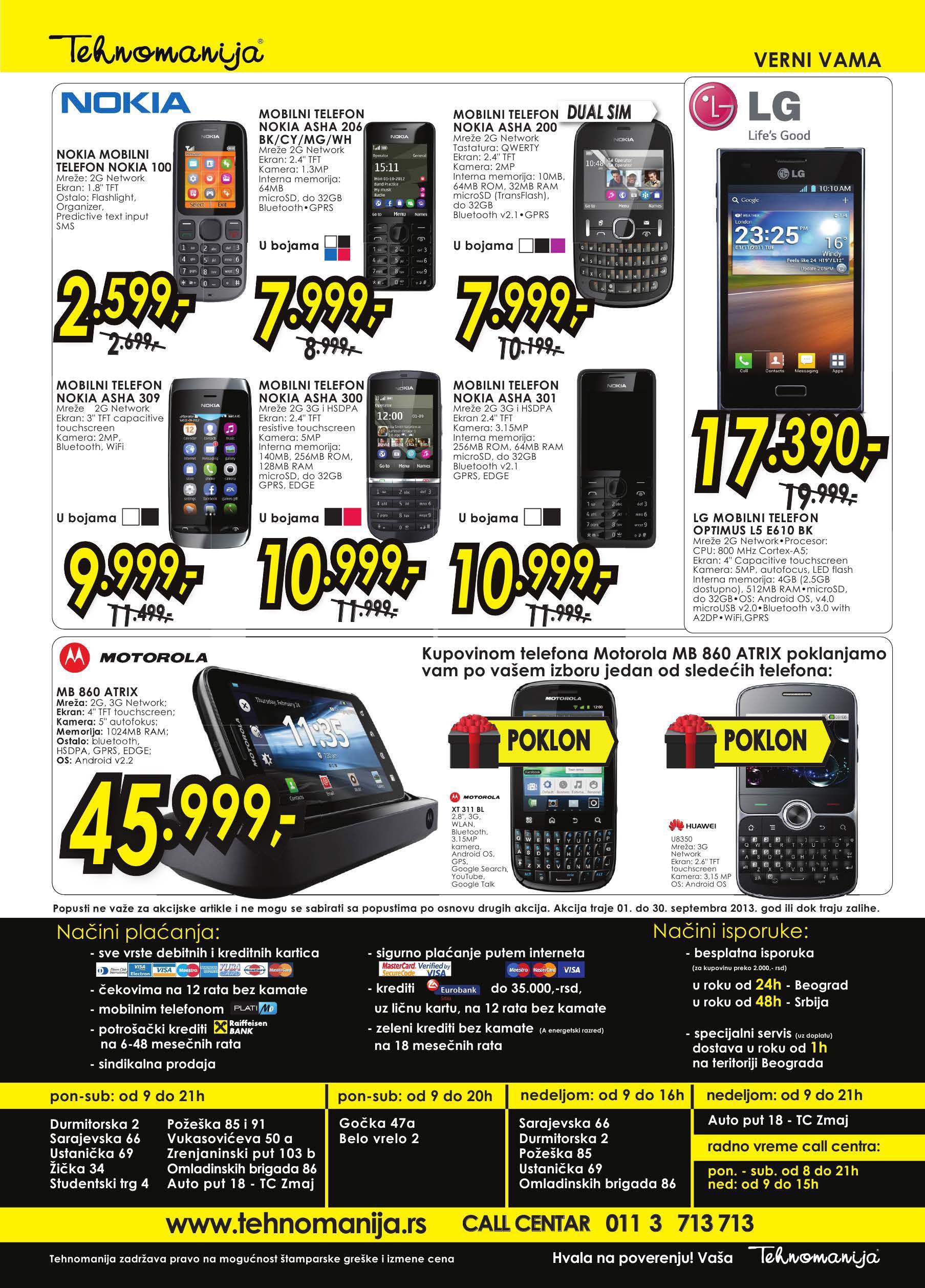 Tehnomanija katalog IT Shop po super ceni