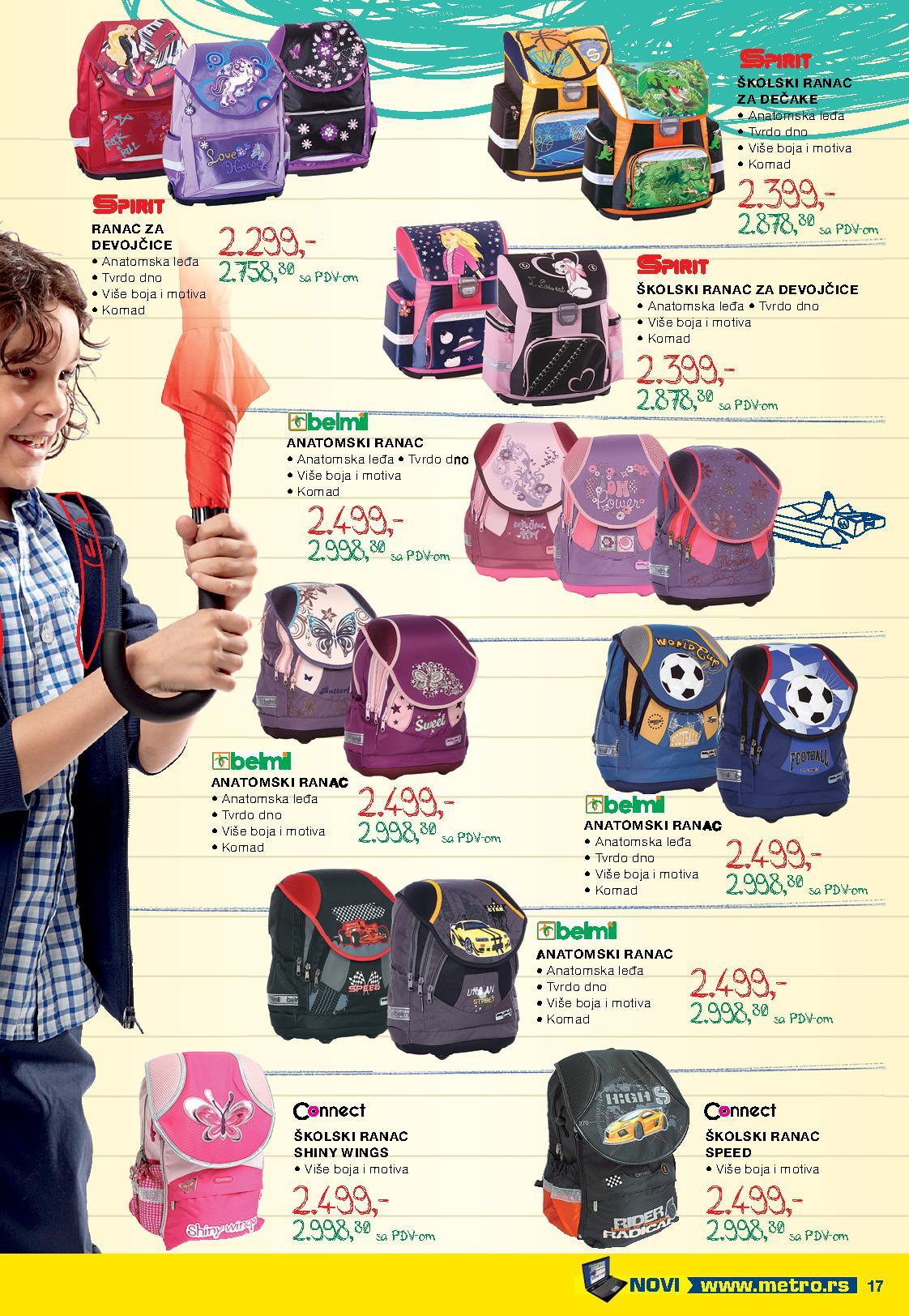 Metro katalog povratak u školu