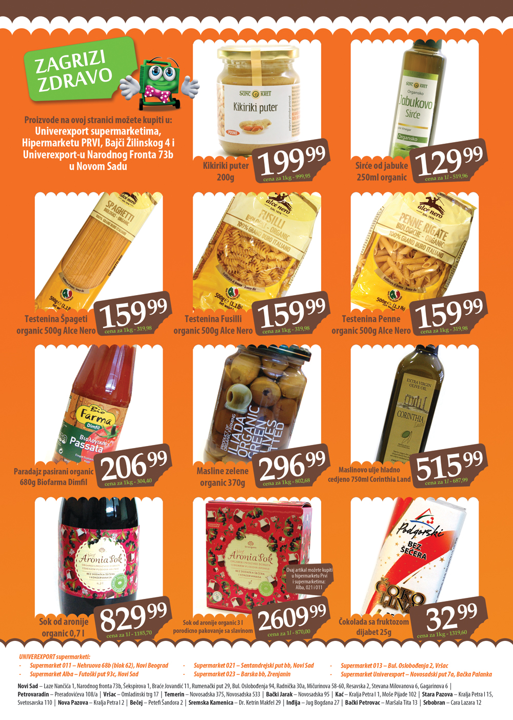 Univerexport Katalog Zdrava hrana