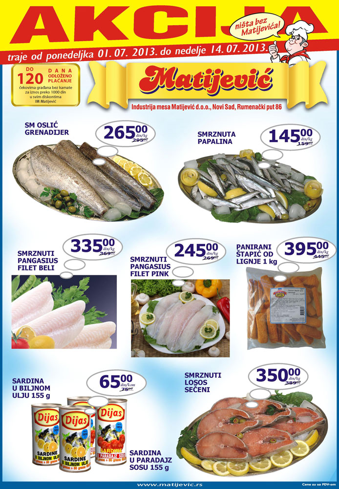 Matijević Katalog Riba