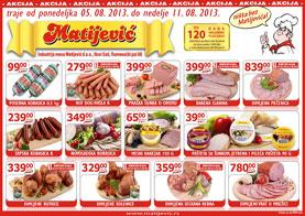 Matijević katalog nedelja super ponude