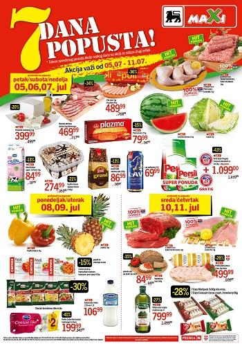 Maxi katalog 7 dana dobrih cena
