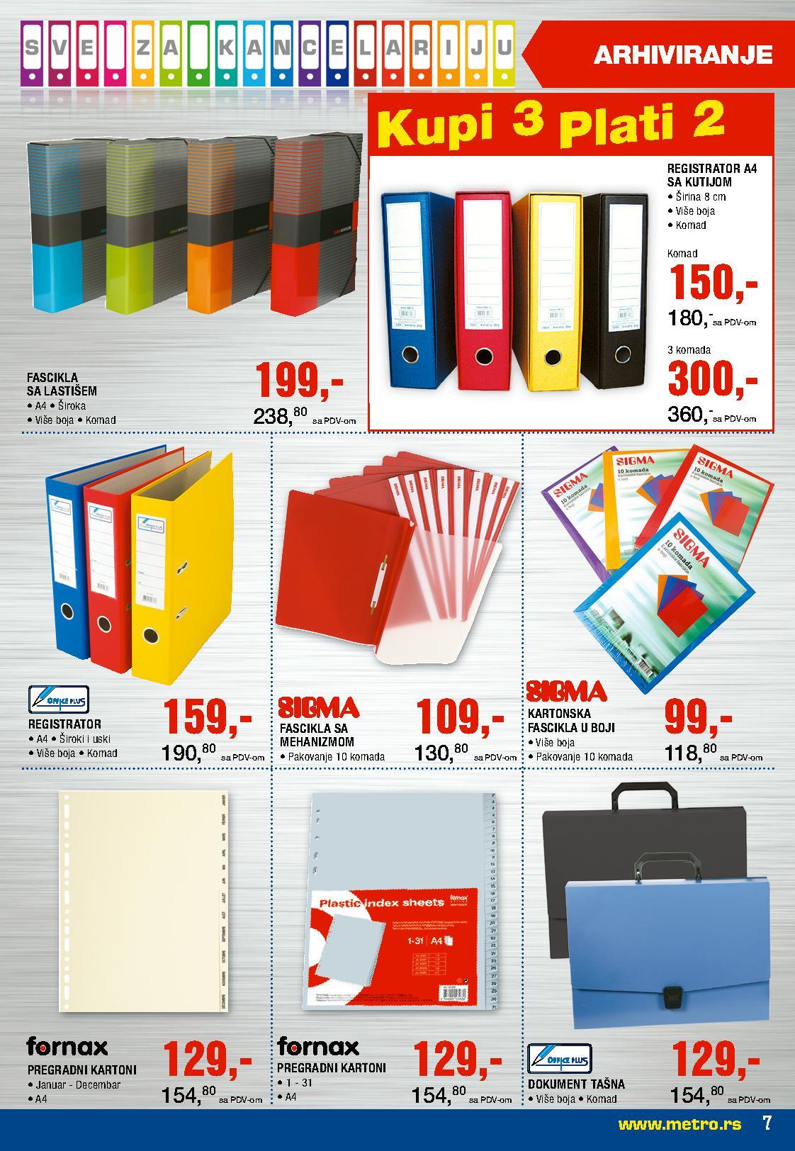 Metro Katalog Kancelrija za vas