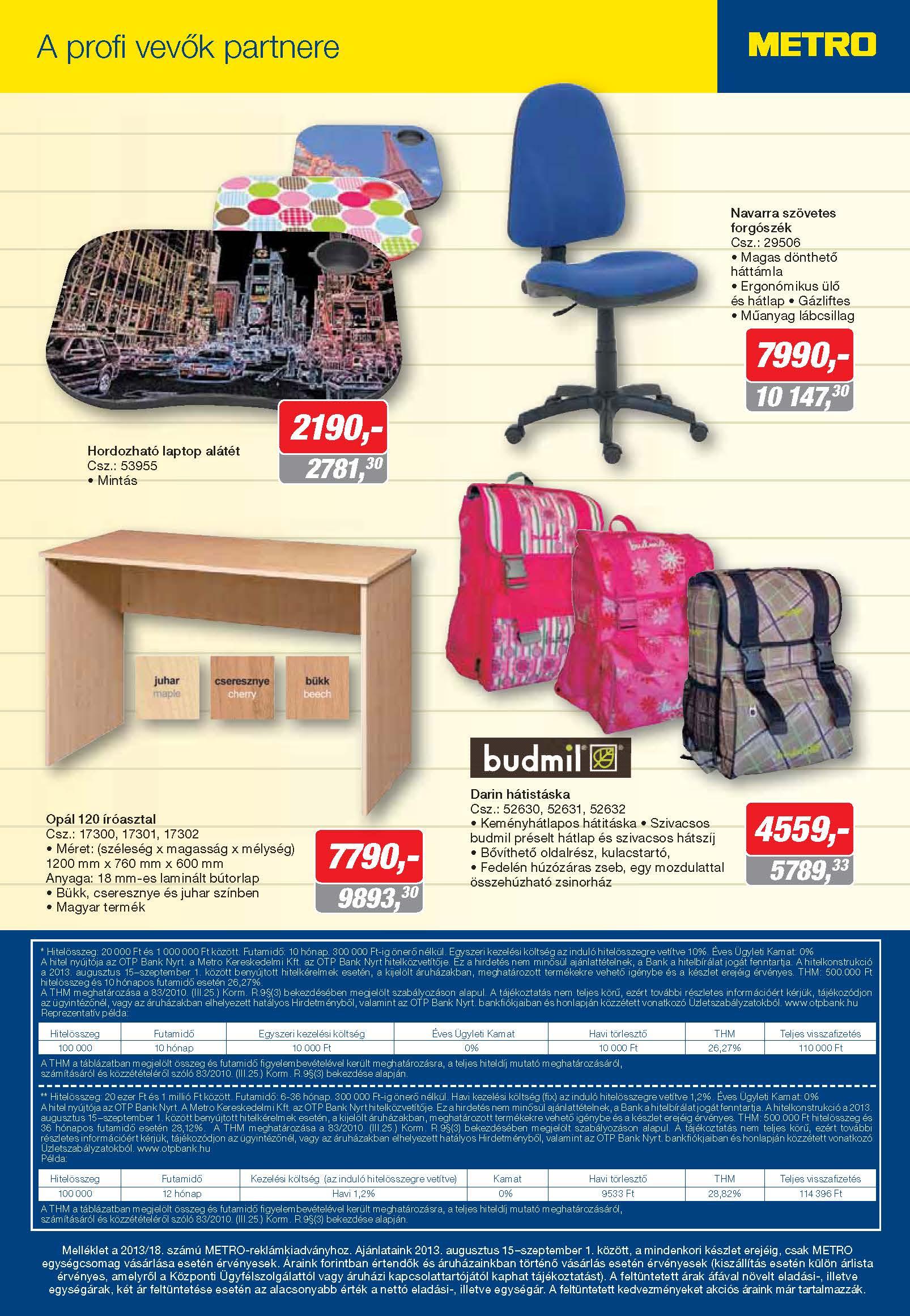 Metro Mađarska katalog sve za školu