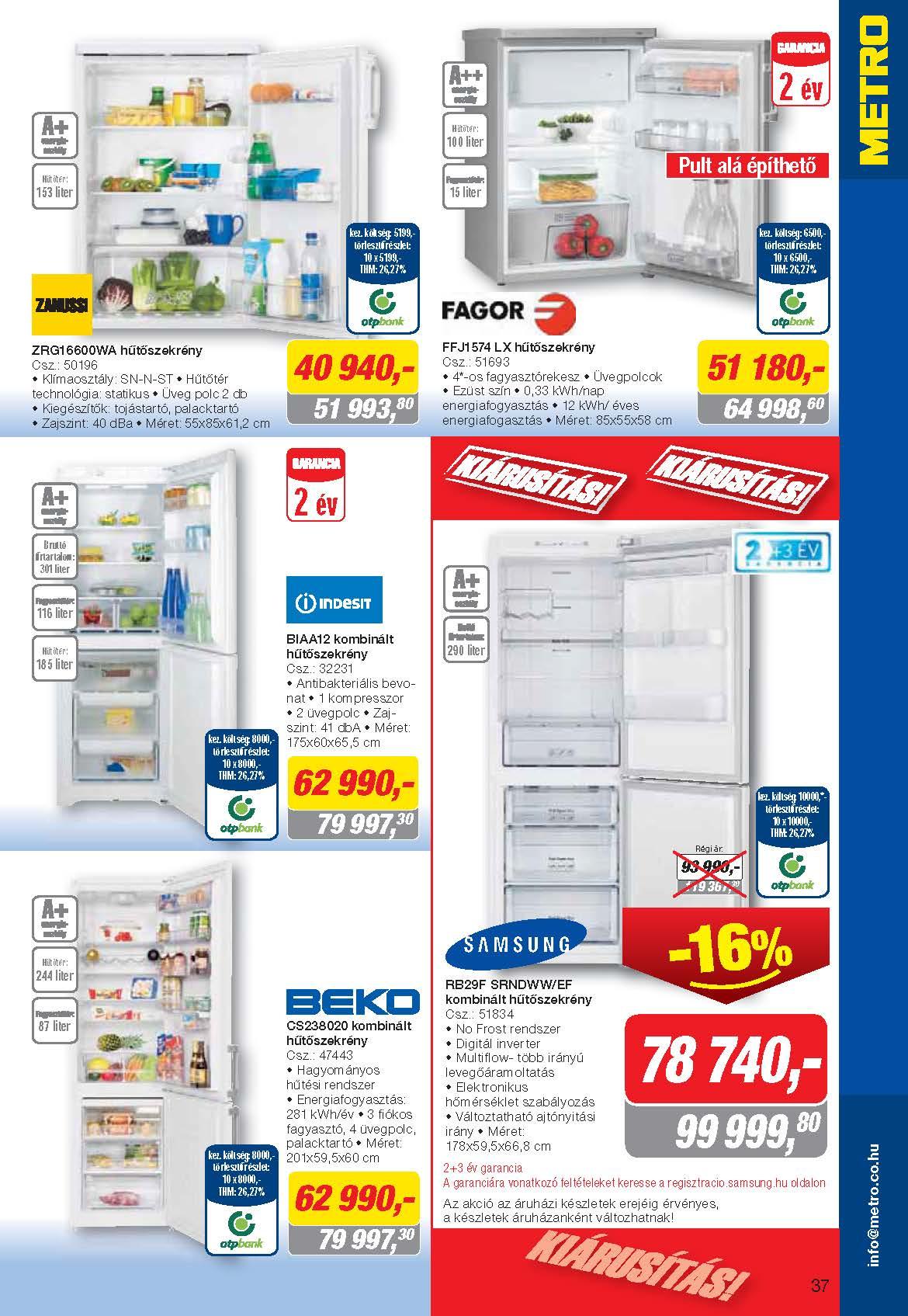 Metro Mađarska katalog tehnika