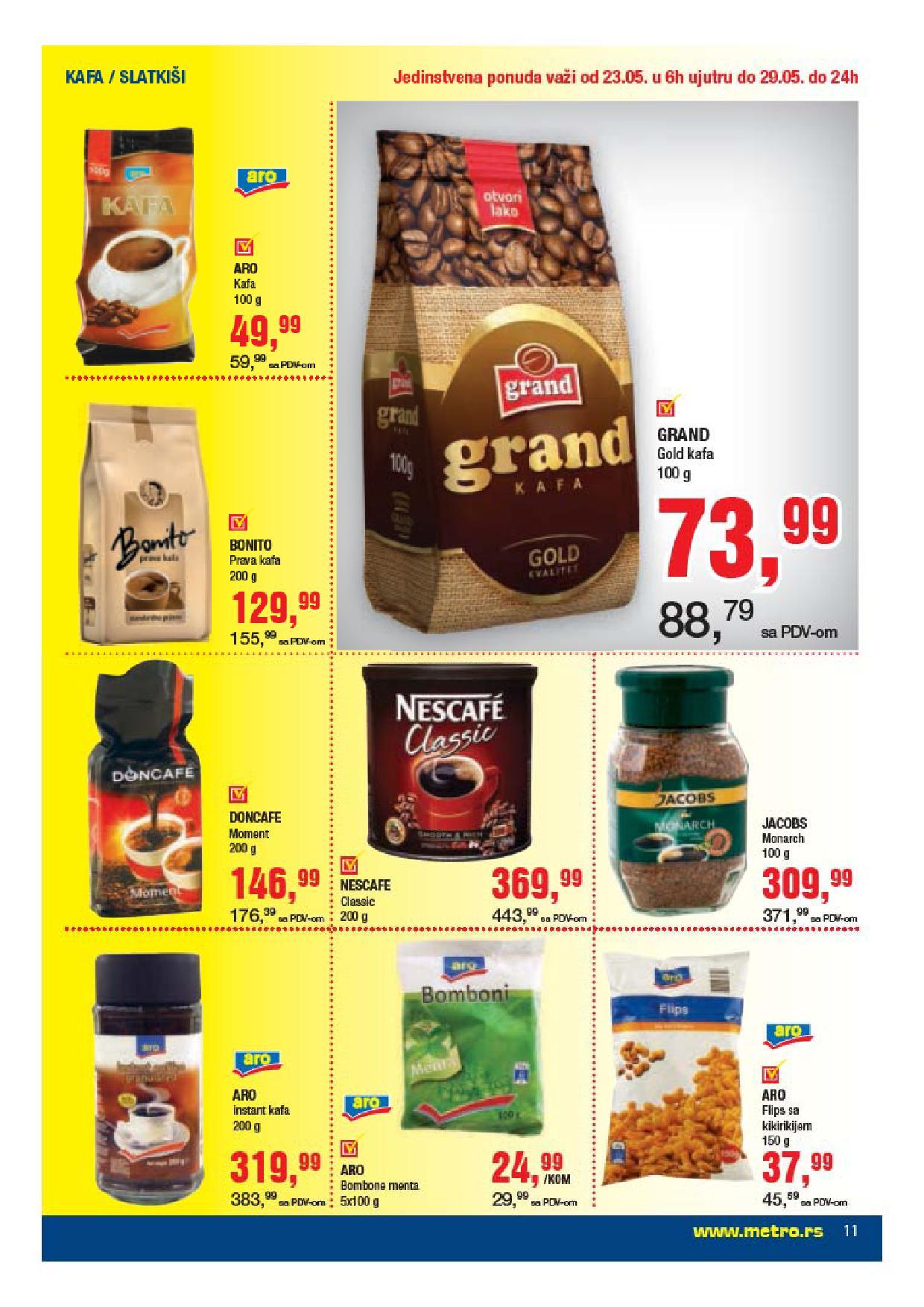 Metro katalog prehrana po odličnim cenama