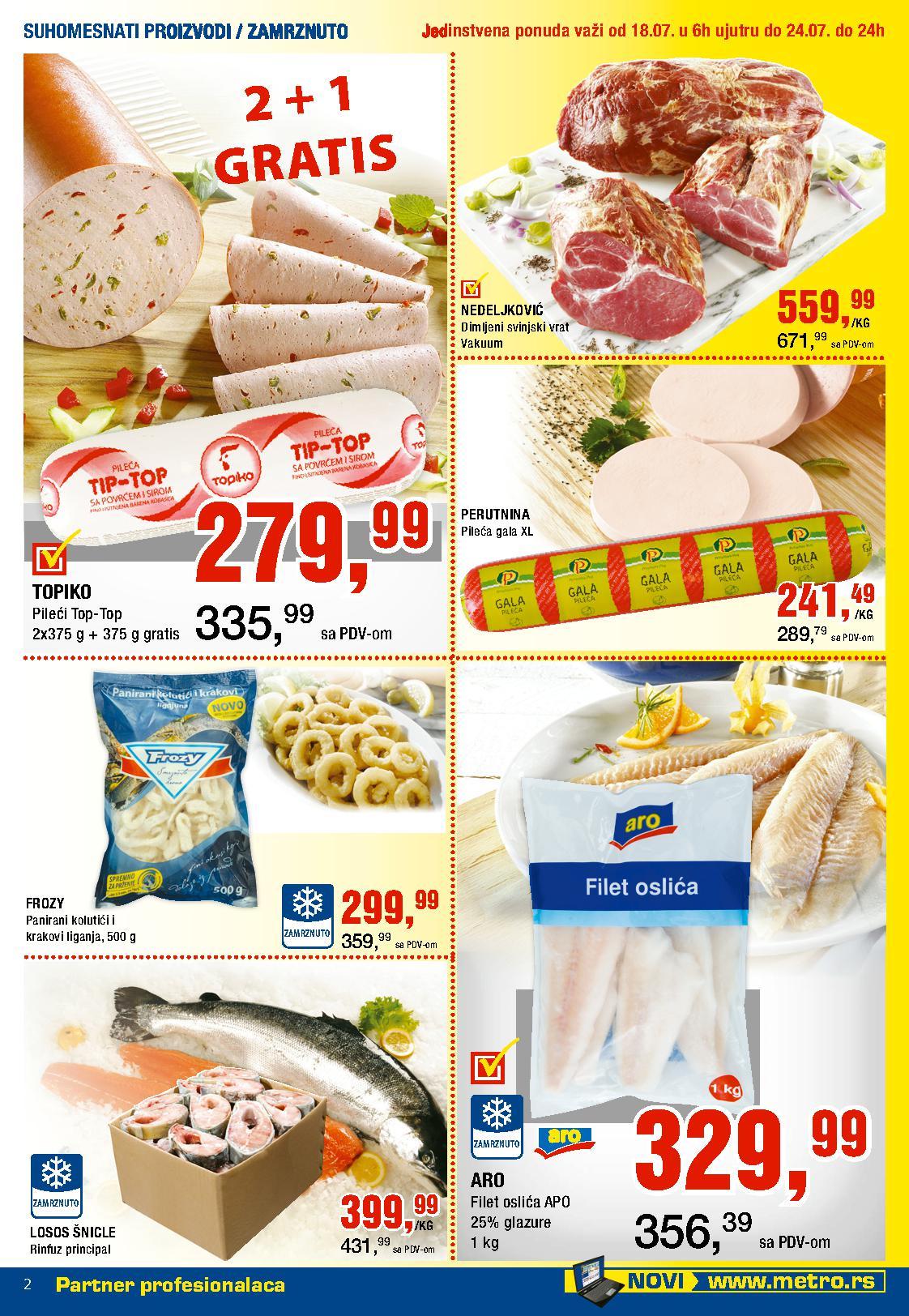 Metro katalog neverovatna nedelja prehrane