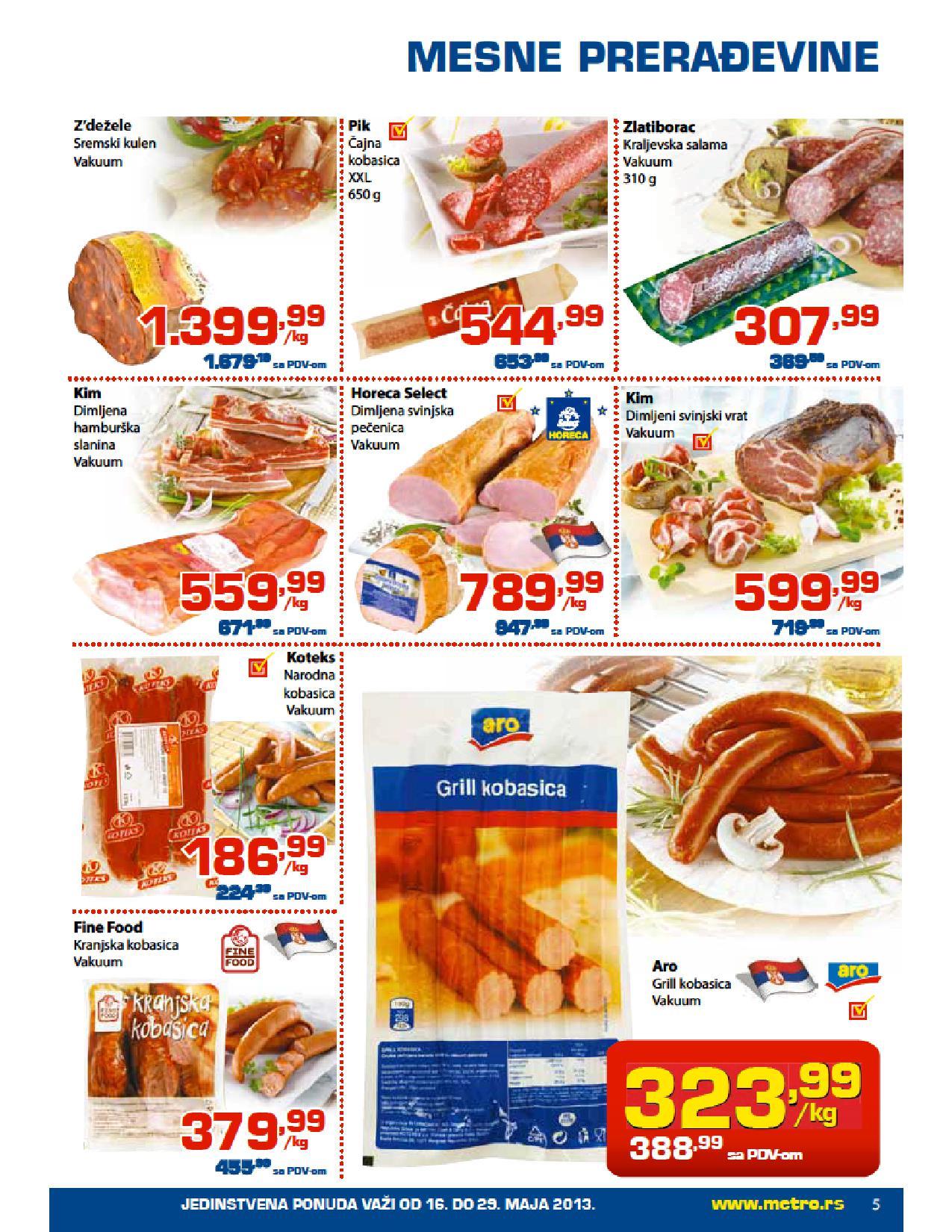 Metro, katlaog Prehrana po super cenama