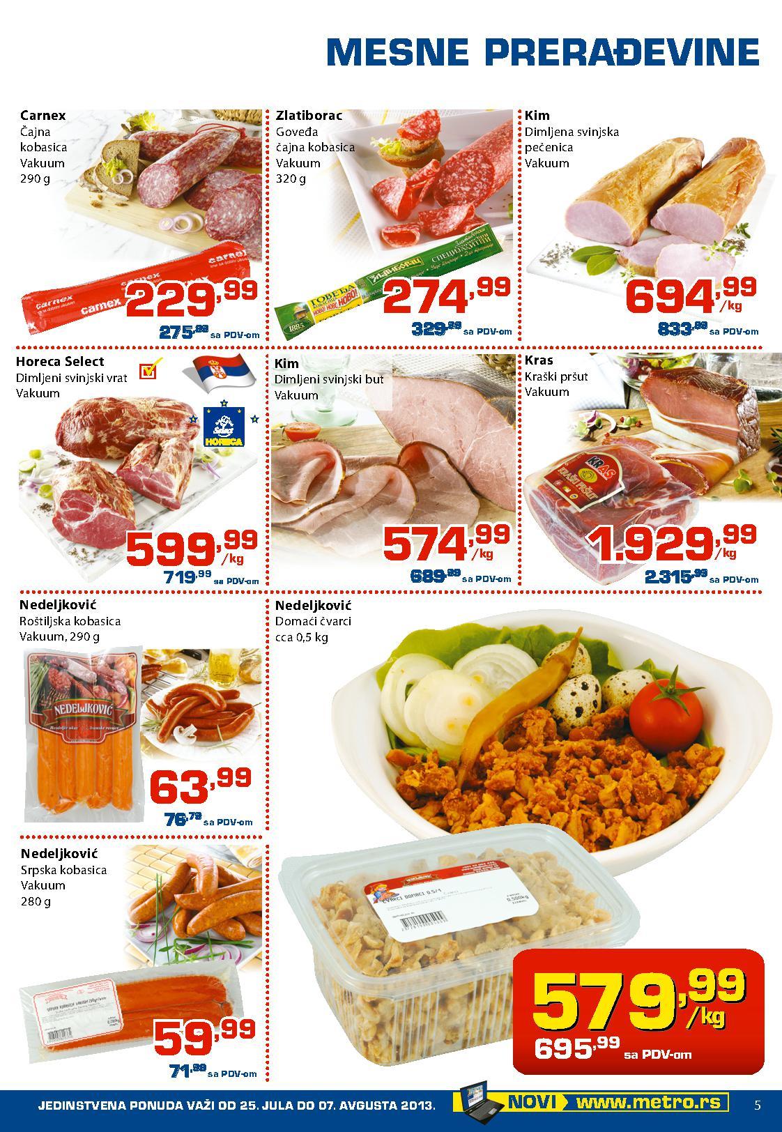Metro katalog Prehrana po super cenama