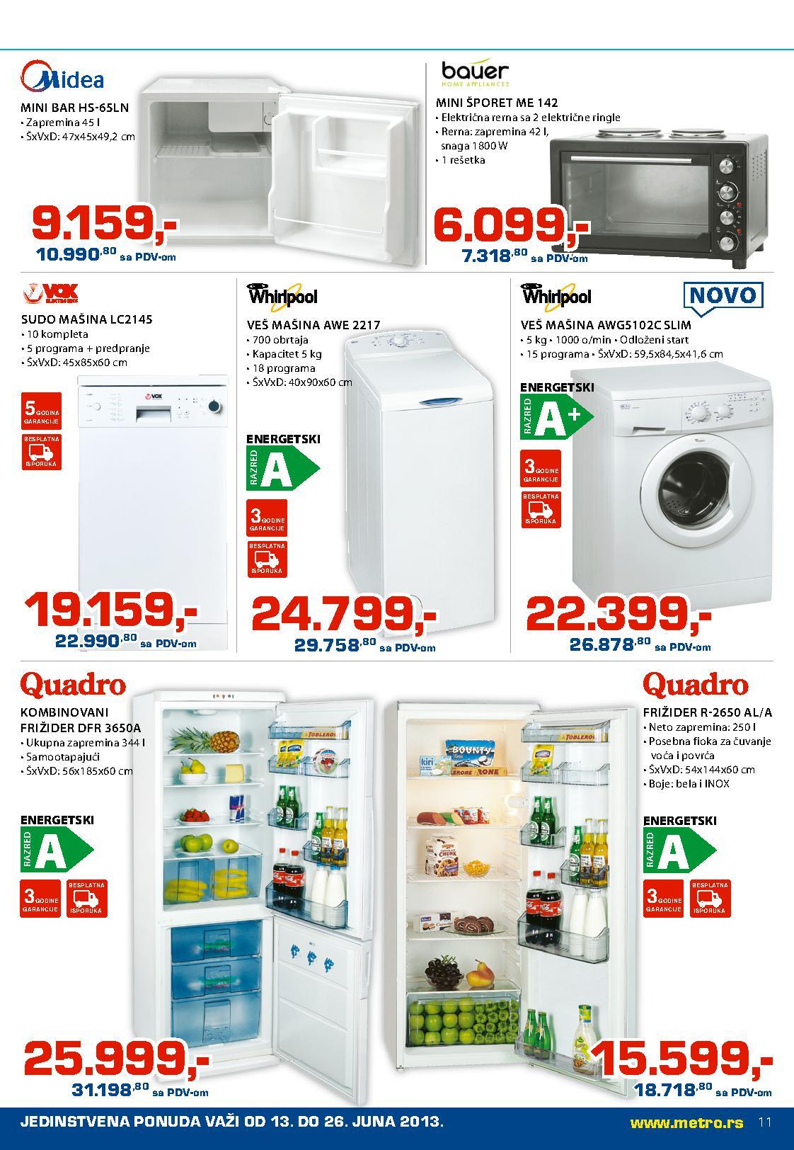 Metro katalog Neprehrana po odličnoj ceni