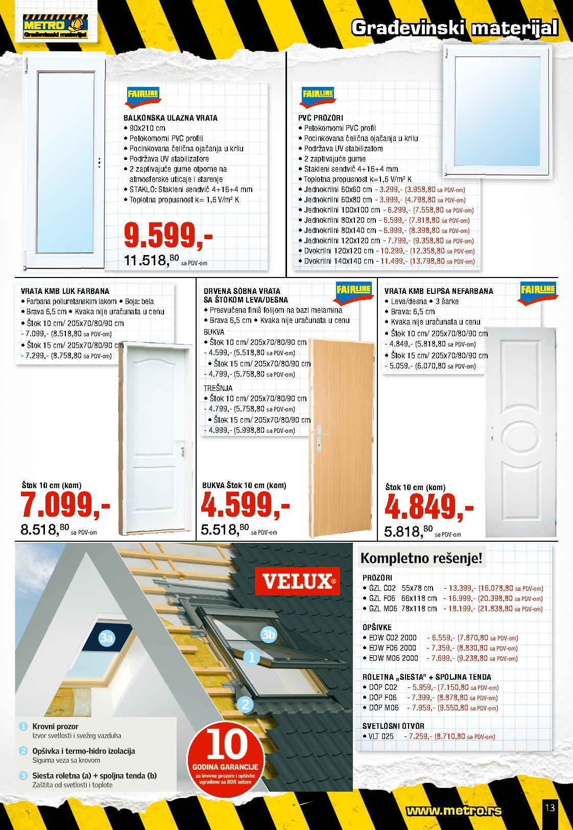 Metro Katalog Uradi sam