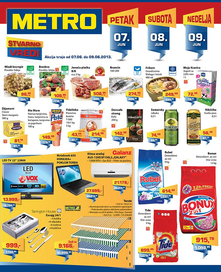 Metro Katalog vikend super cena