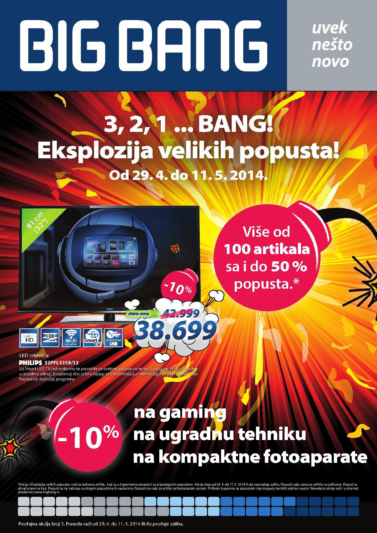 Big Bang akcija super cena