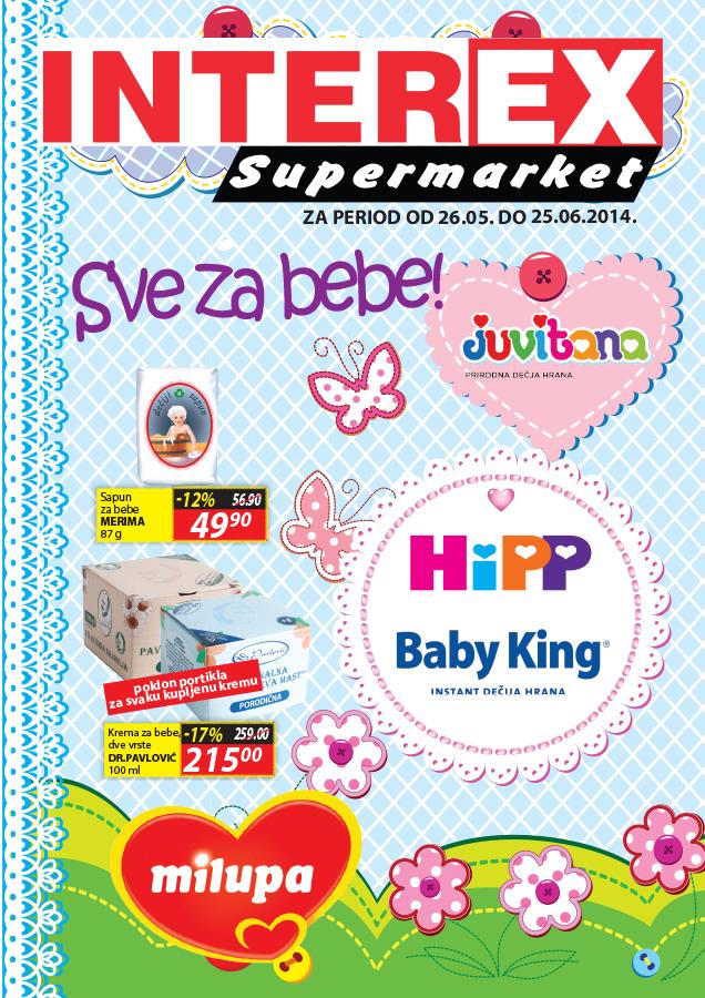 Interex akcija sve za bebe