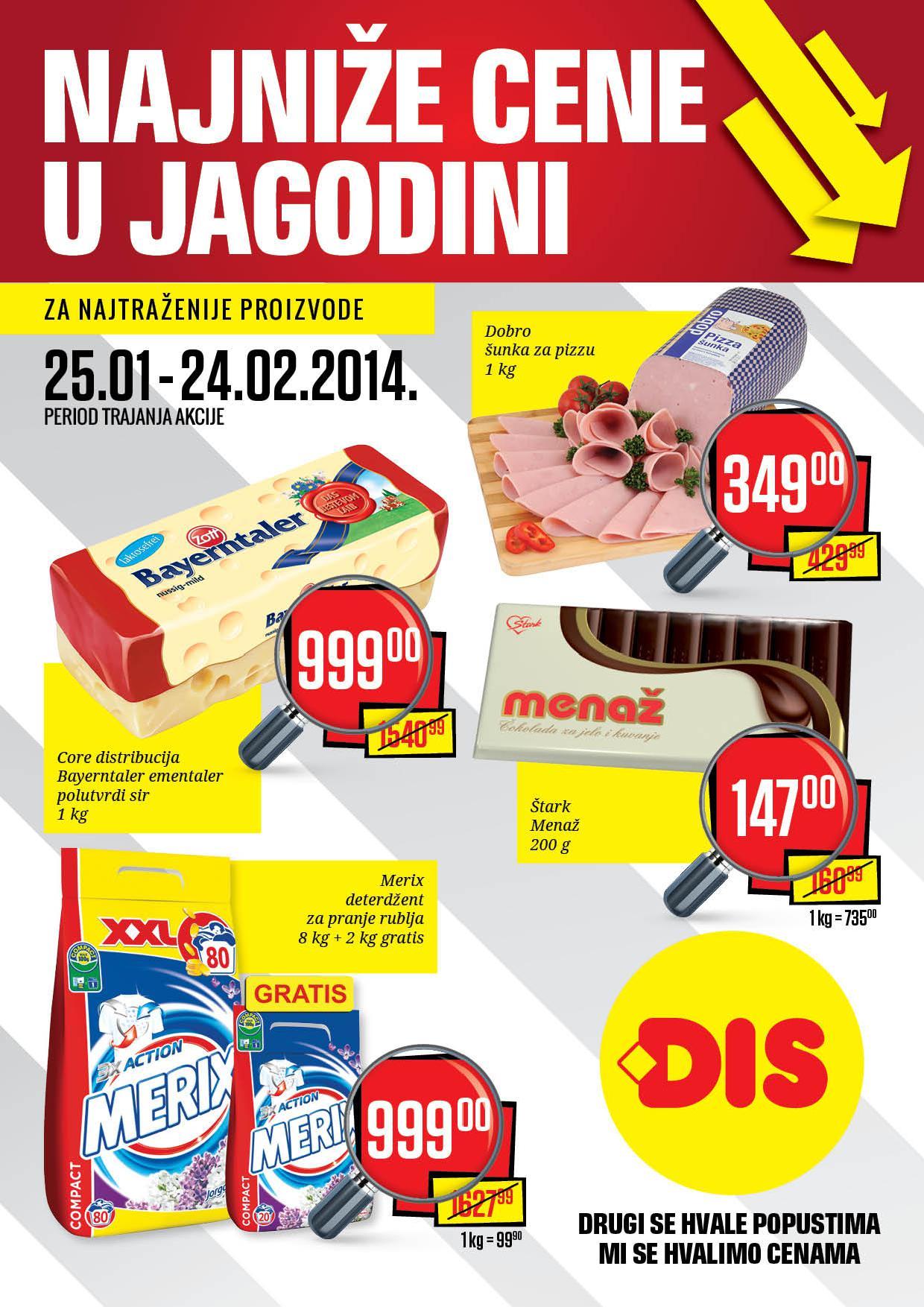 Dis katalog najniže cene u Jagodini!