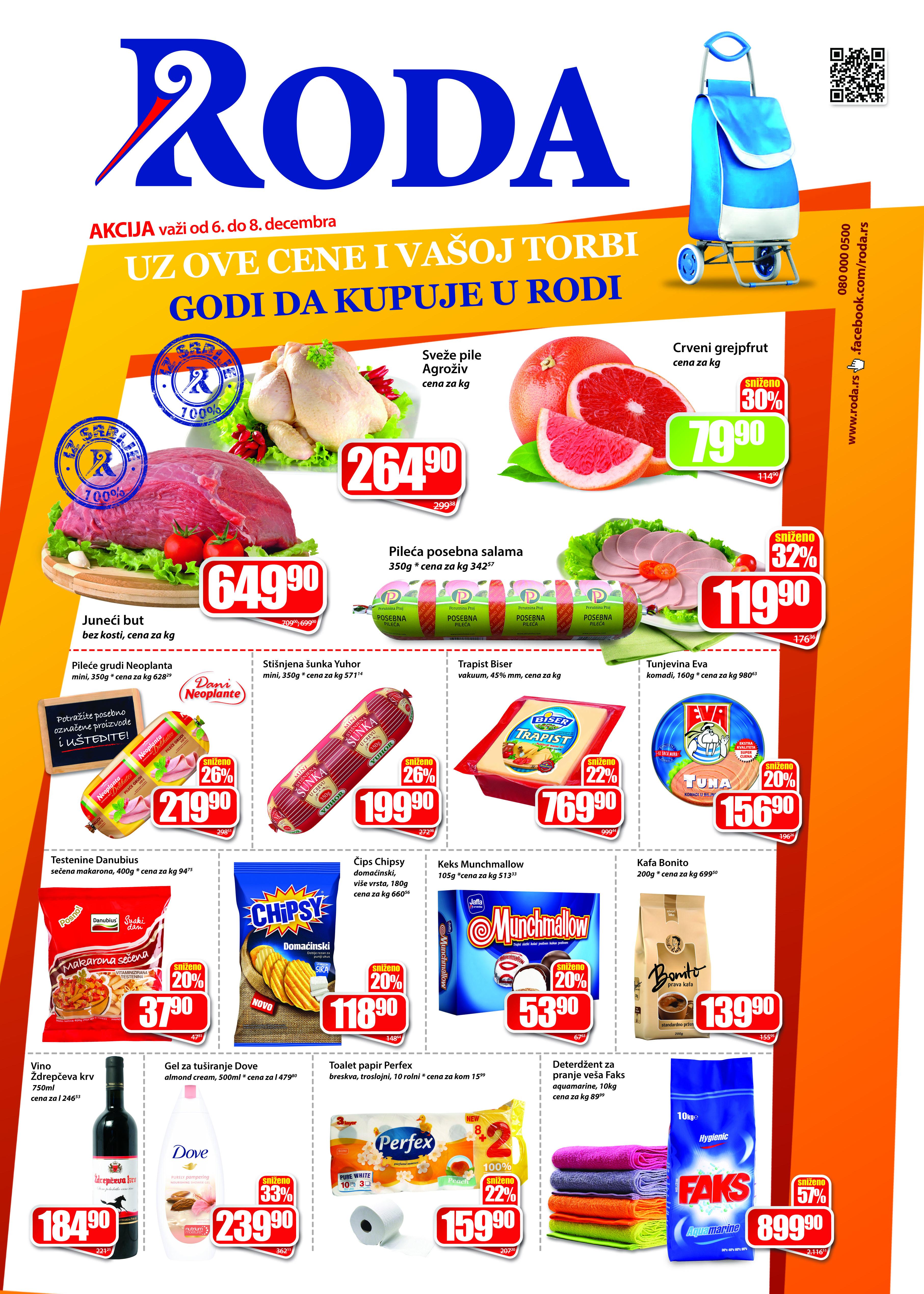 Roda katalog vikend super kupovine počinje
