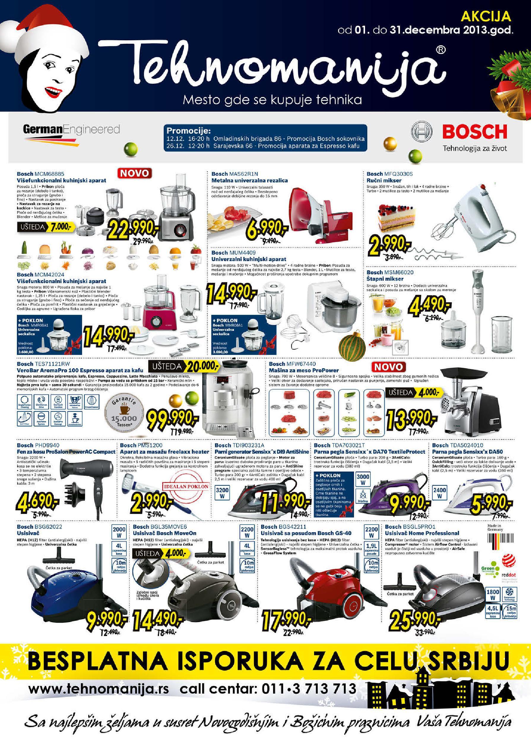 Tehnomanija katalog mali kućni aparati odlična ponuda