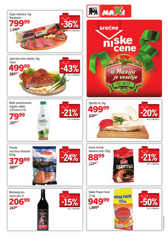 Maxi katalog odličnih cena