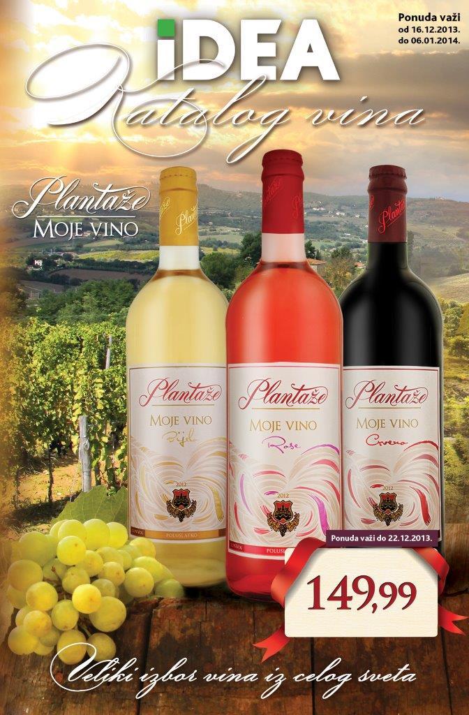 Idea katalog odlična ponuda vina
