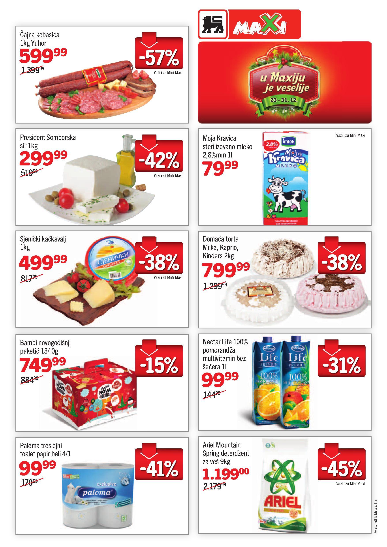 Maxi katalog super niskih cena