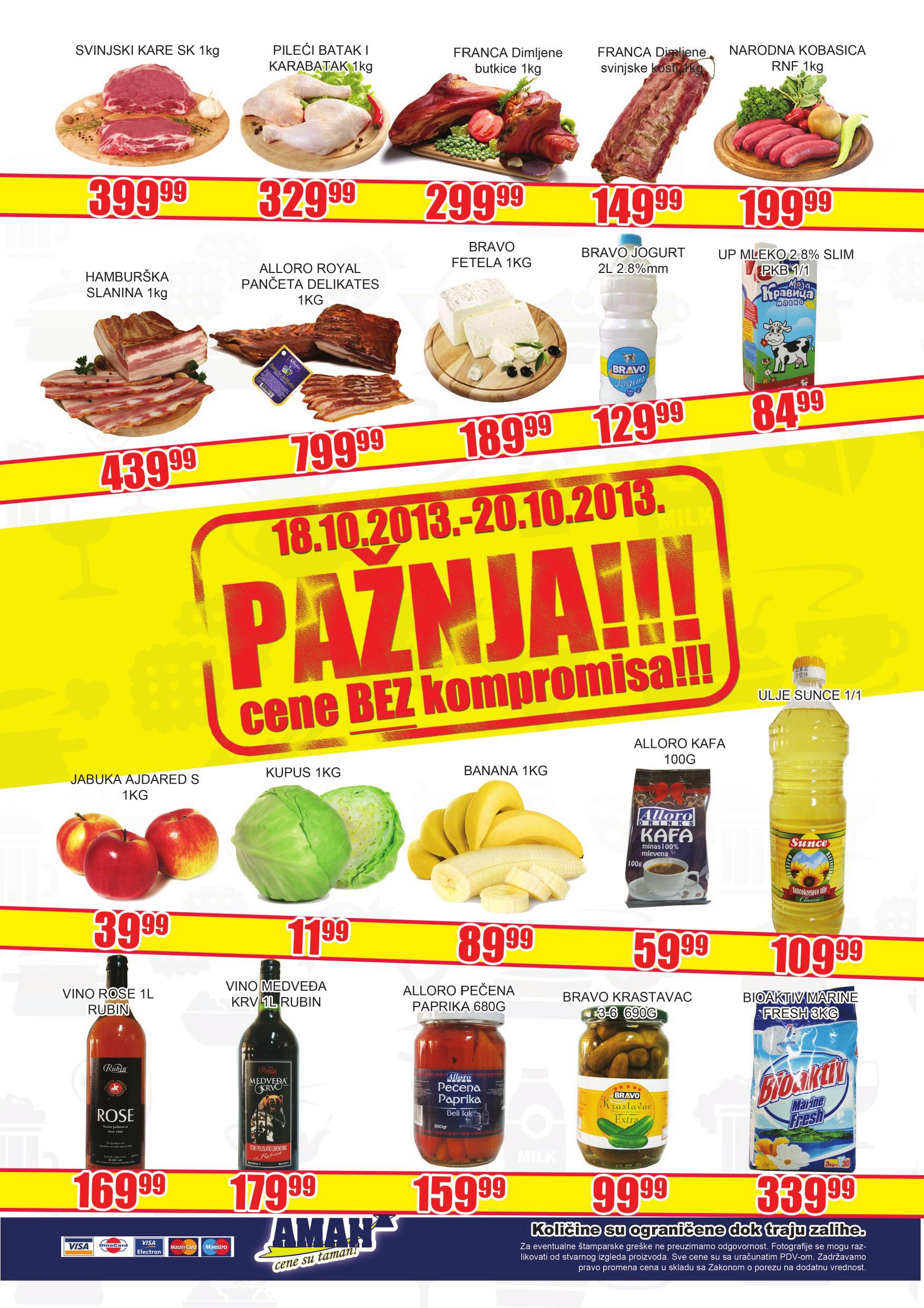 Aman katalog vikend super cena