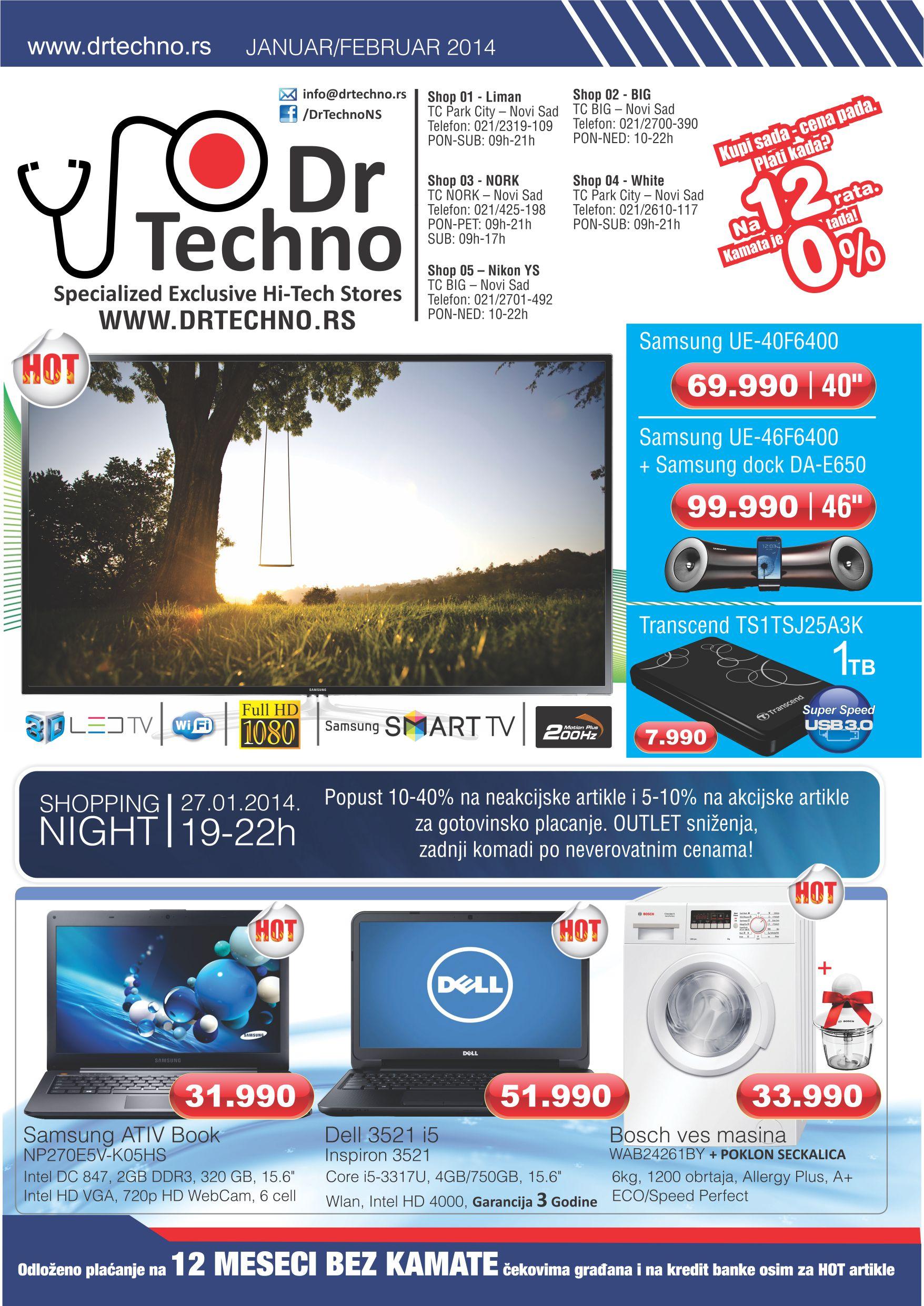 Dr Techno katalog super ponude