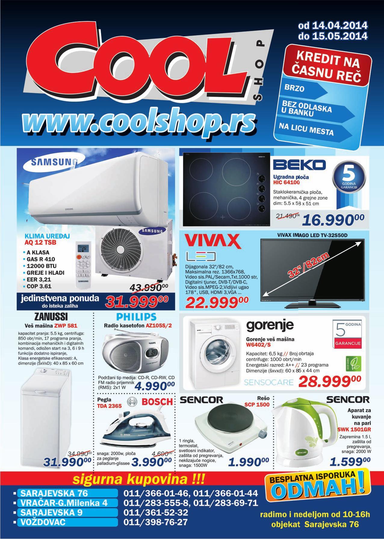 Cool Shop akcija super cena