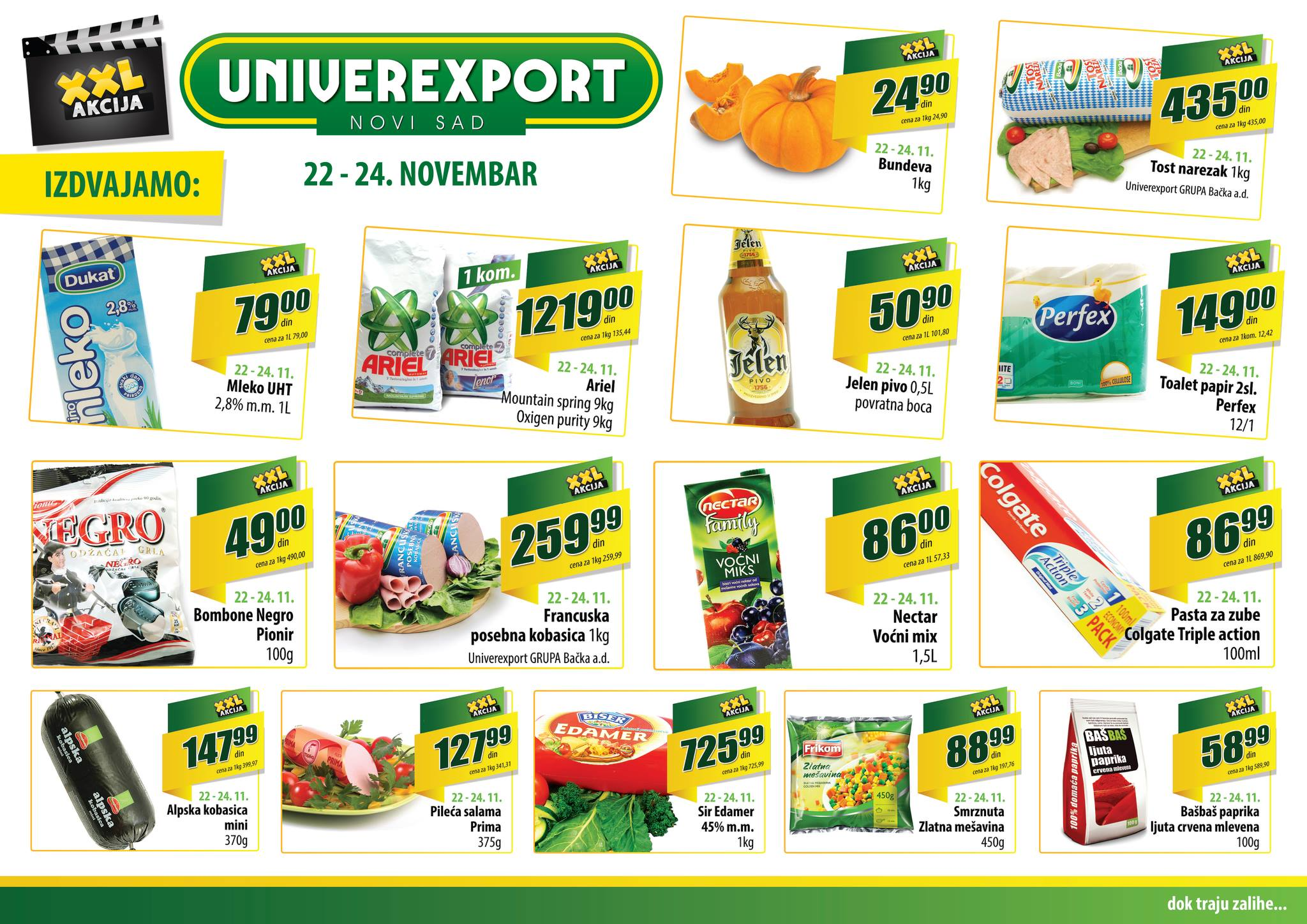 Univerexport katalog vikend dobre kupovine