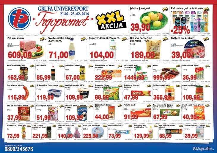 Trgopromet katalog vikend super ponude za vas