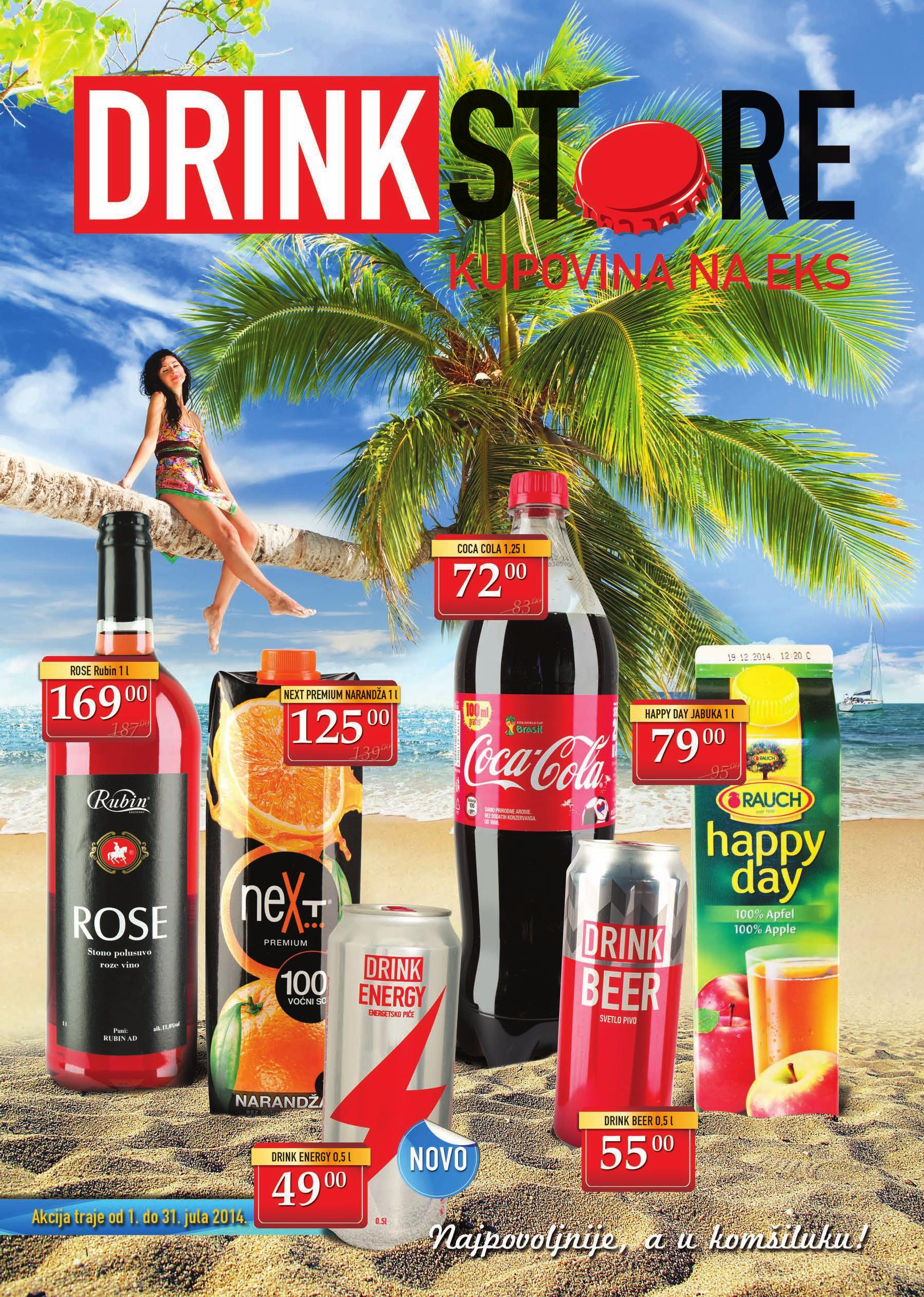 Drink Store akcija letnjih cena