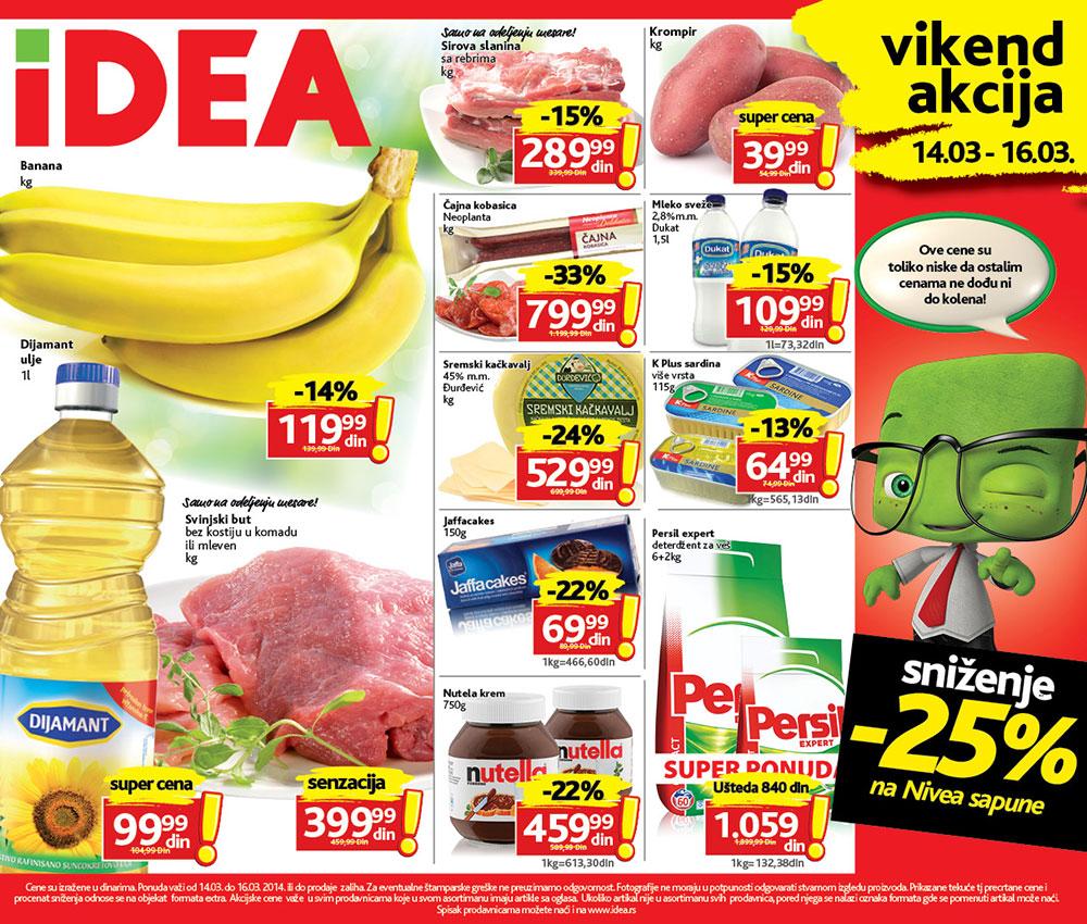 Idea katalog vikend povoljnih cena