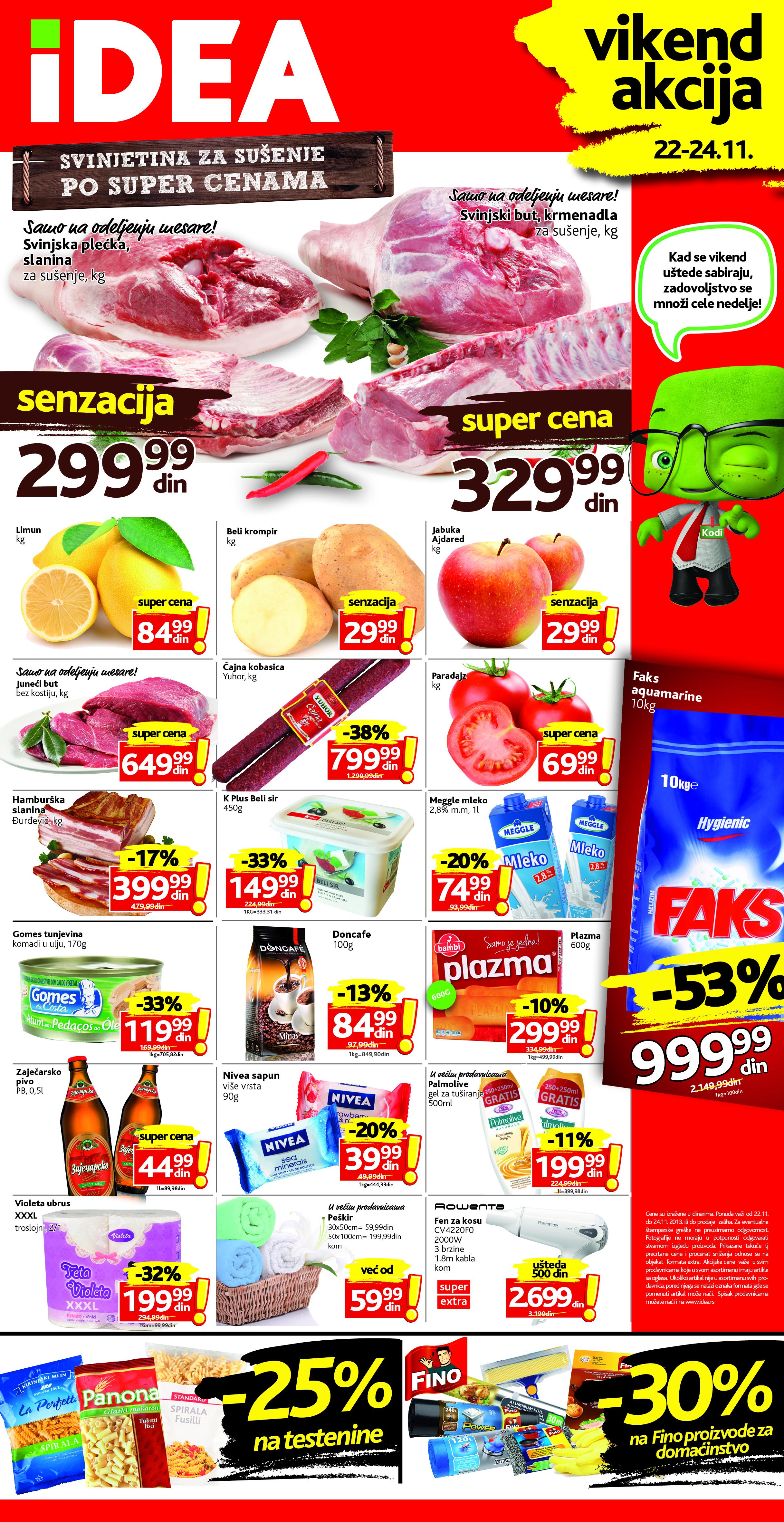 Idea katalog vikend akcijskih cena