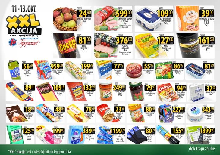 Trgopromet katalog vikend odlične kupovine