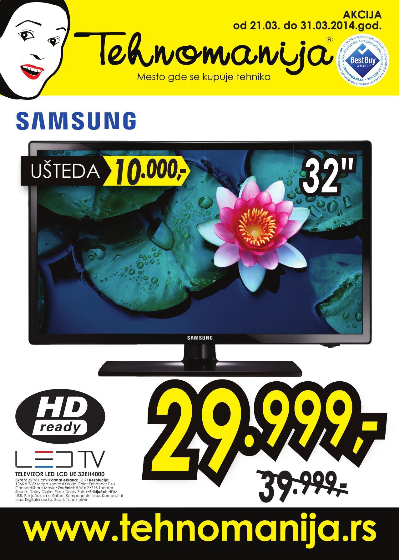 Tehnoamnija katalog super ponuda Samsung TV uređaja