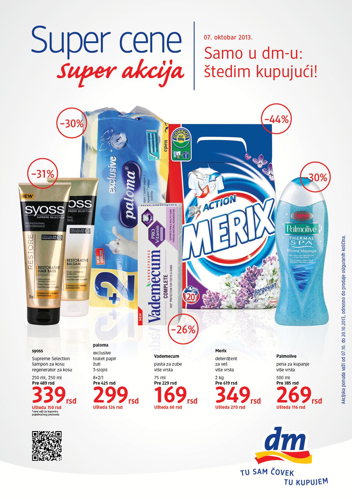 DM katalog super cena za vas
