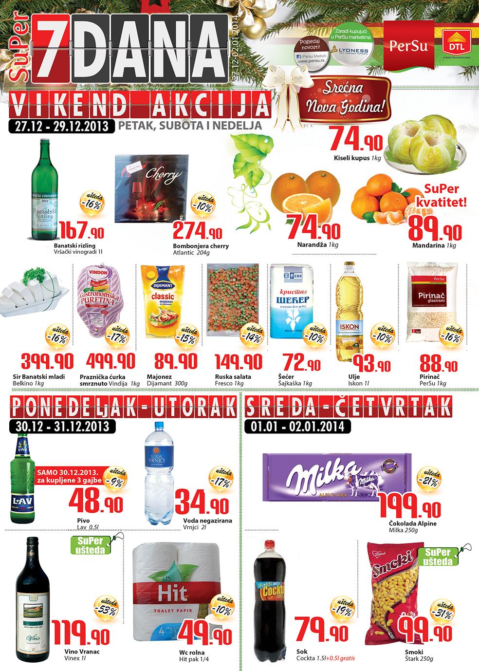 Persu katalog nedelja odličnih cena