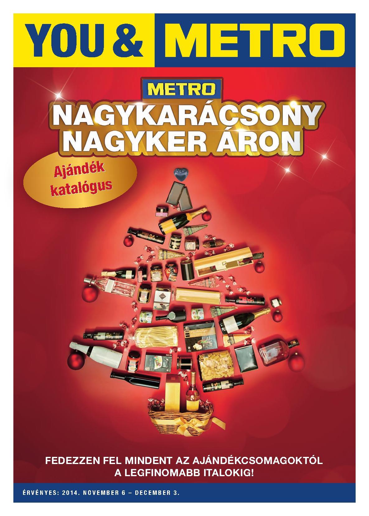 Metro Mađarska akcija novogodišnji pokloni
