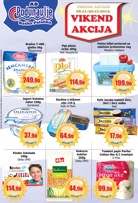 AD Podunavlje akcija počinje vikend super cena za vas
