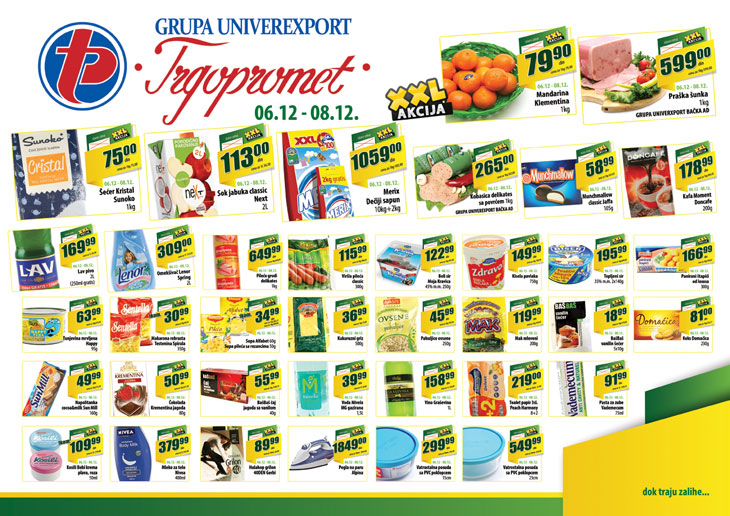 Trgopromet katalog vikend super popusta