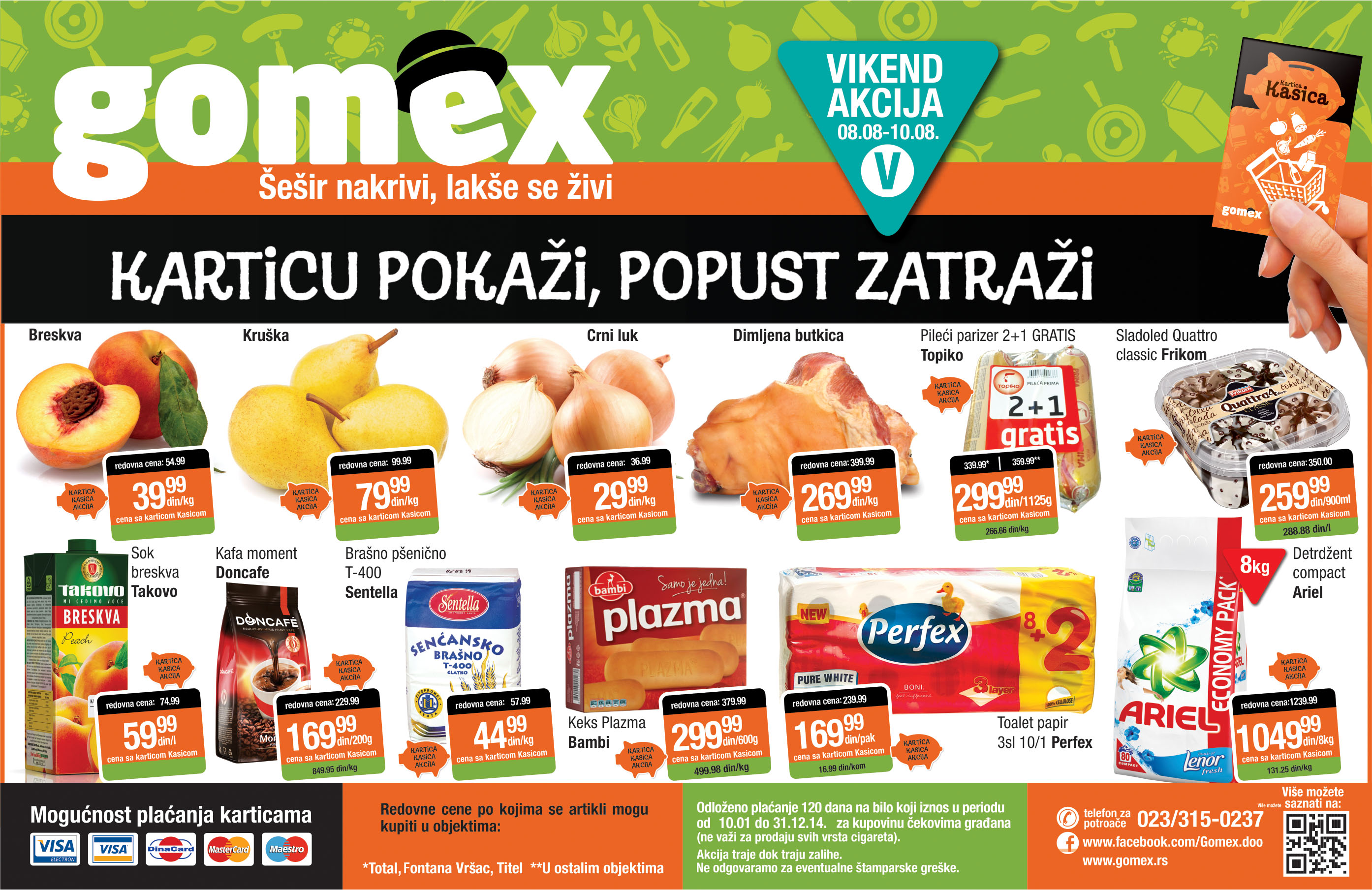 Gomex akcija vieknd ponude za vas