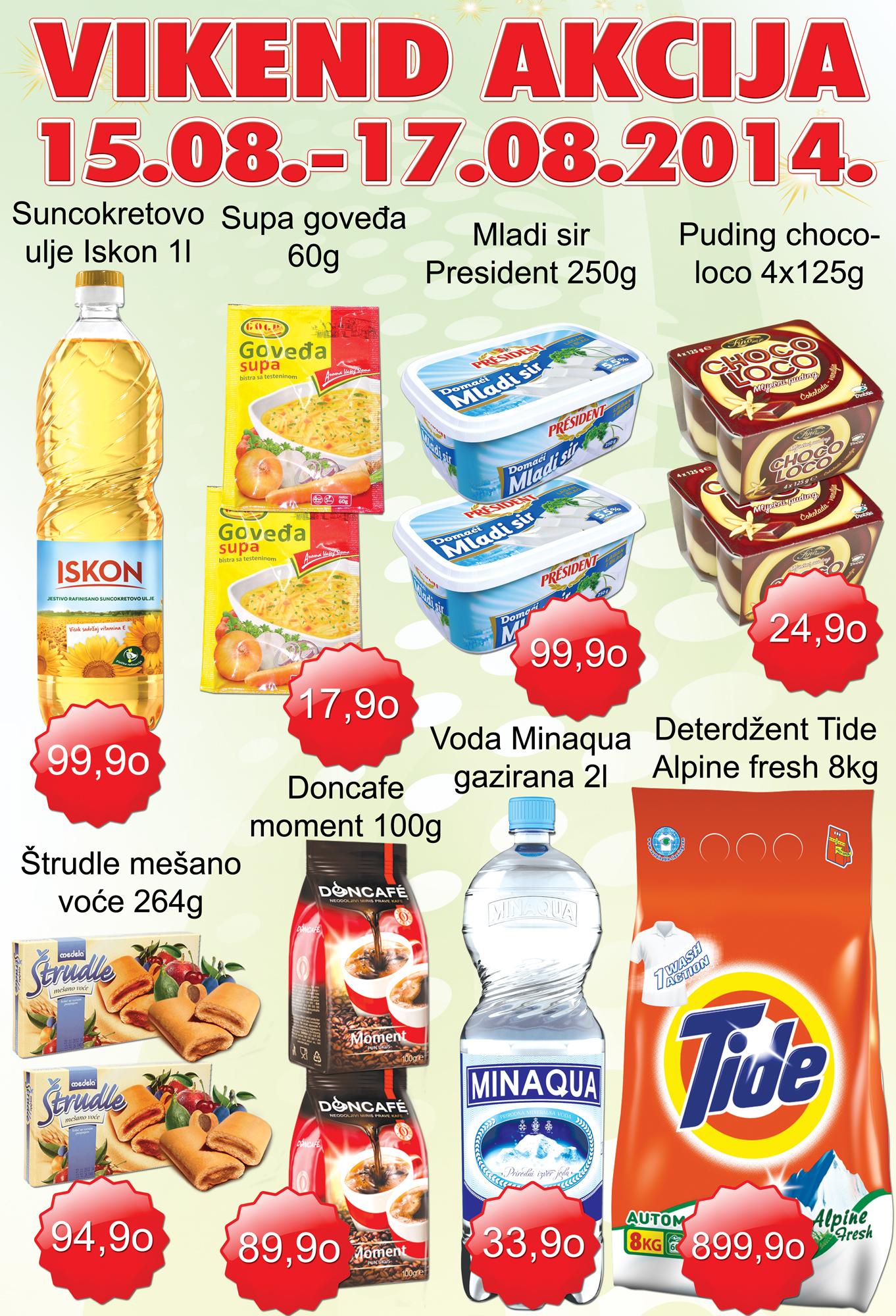 AD Podunavlje akcija vikend sjajne ponude