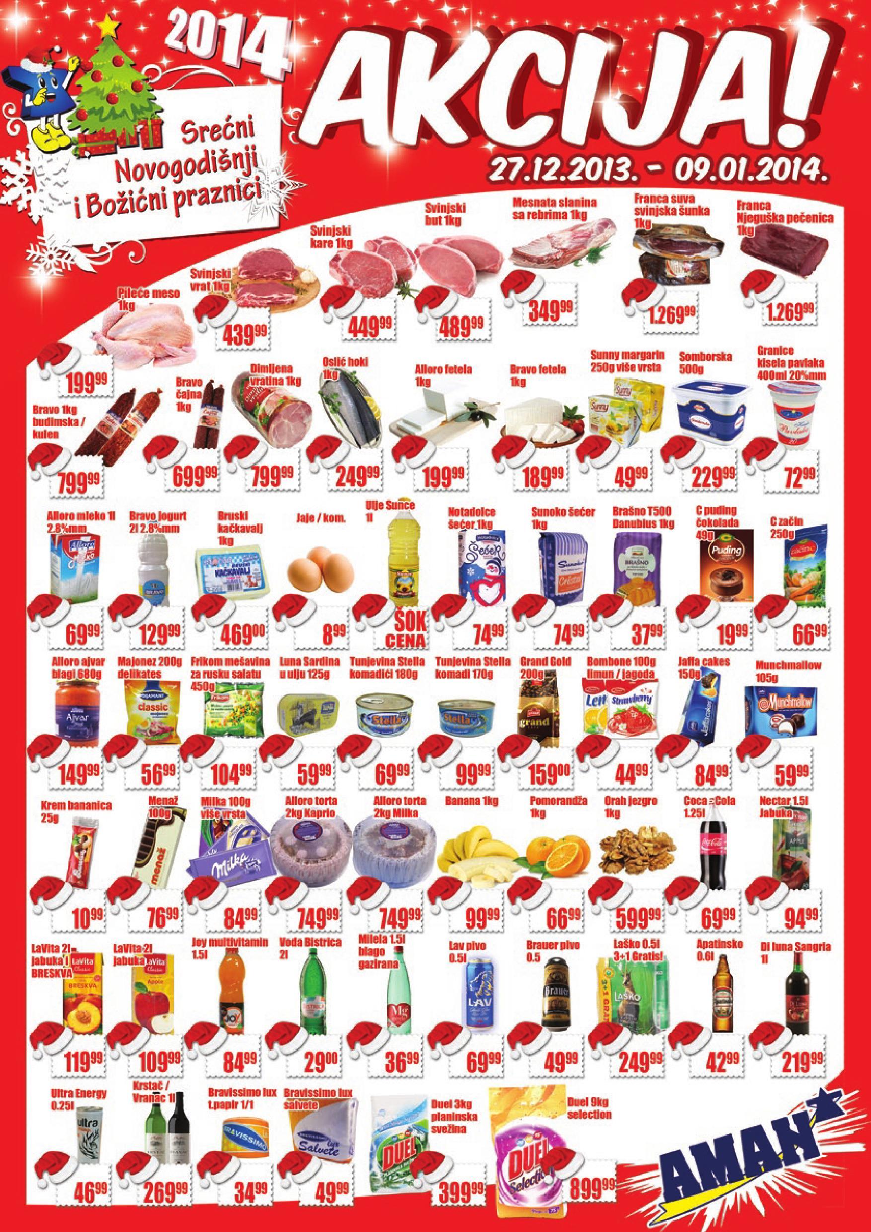 Aman katalog vikend novogodišnje kupovine
