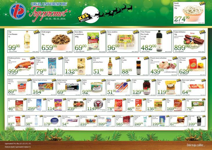 Trgopromet katalog božićne ponude