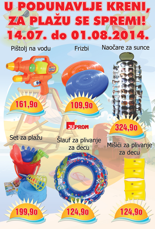 AD Podunavlje akcija spremni za plažu